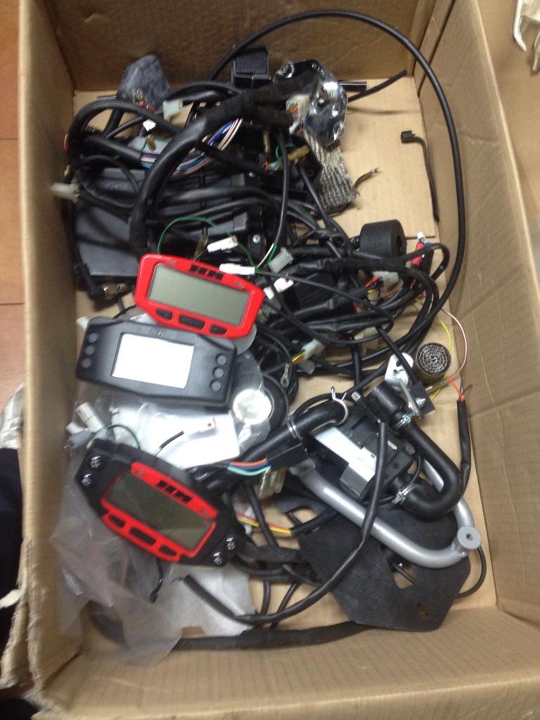 Schema Elettrico Hm : Vendo accessori impianti elettrici crf 250x e 450x solo enduro