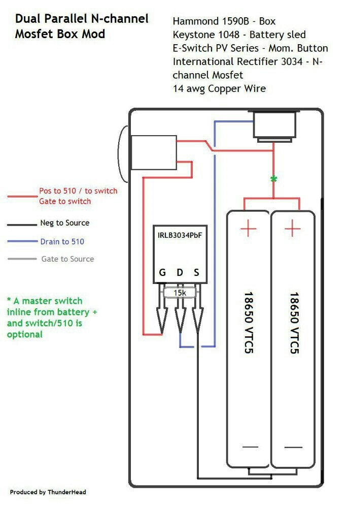 abdeca8fed9678c37a46abd0650dcc90 basic mosfet wiring page 13 vaping underground forums an parallel box mod wiring diagram at honlapkeszites.co