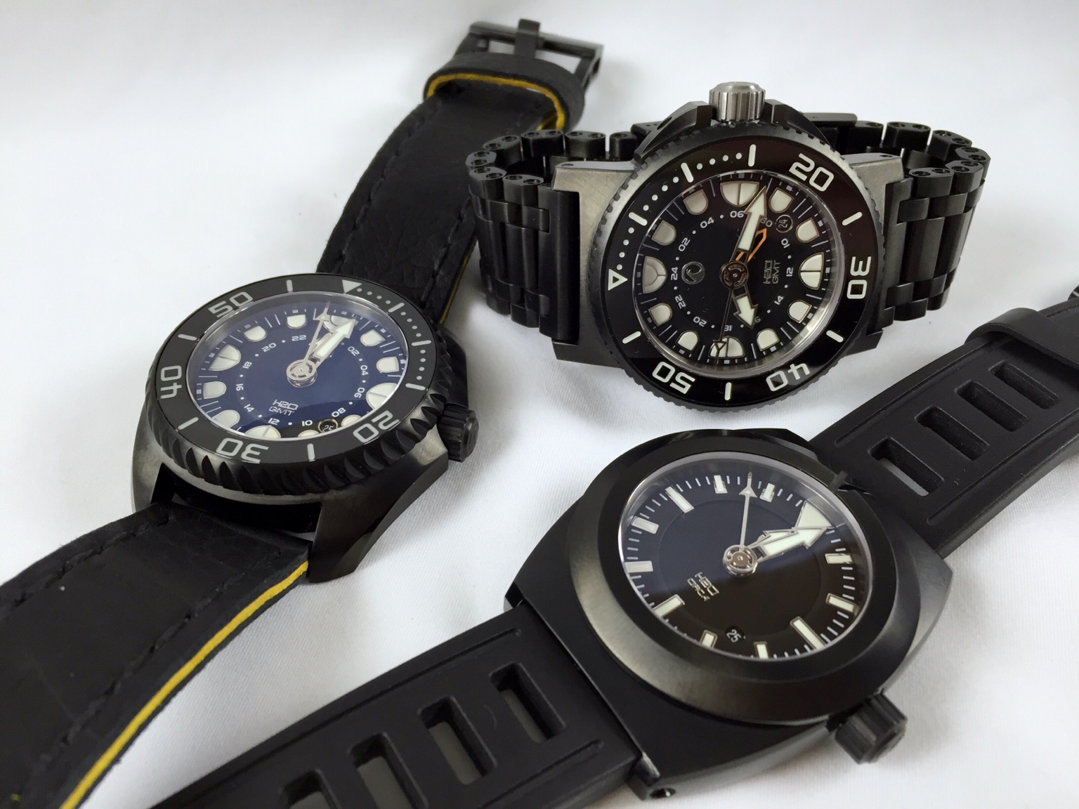 and gmt watches ceramic black blue bezel with case ii thumb rolex dlc master