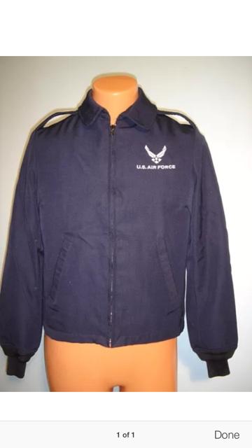 Lightweight blues jacket - AF logo allowed? - CAP Talk the