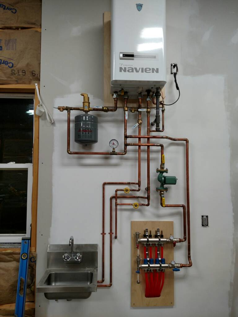 picts of your in-floor heat set ups. [Archive] - Page 3 - The Garage ...