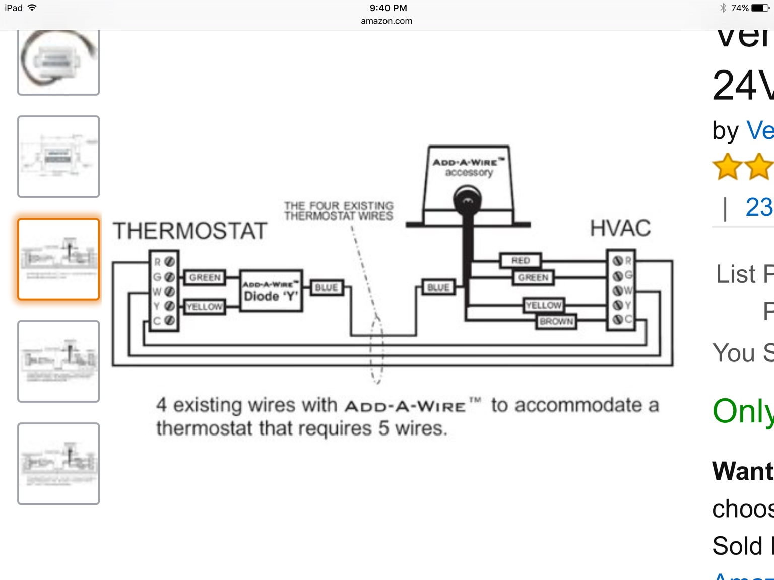 question about insteon thermostat wiring how are you using isy  insteon thermostat wiring #15