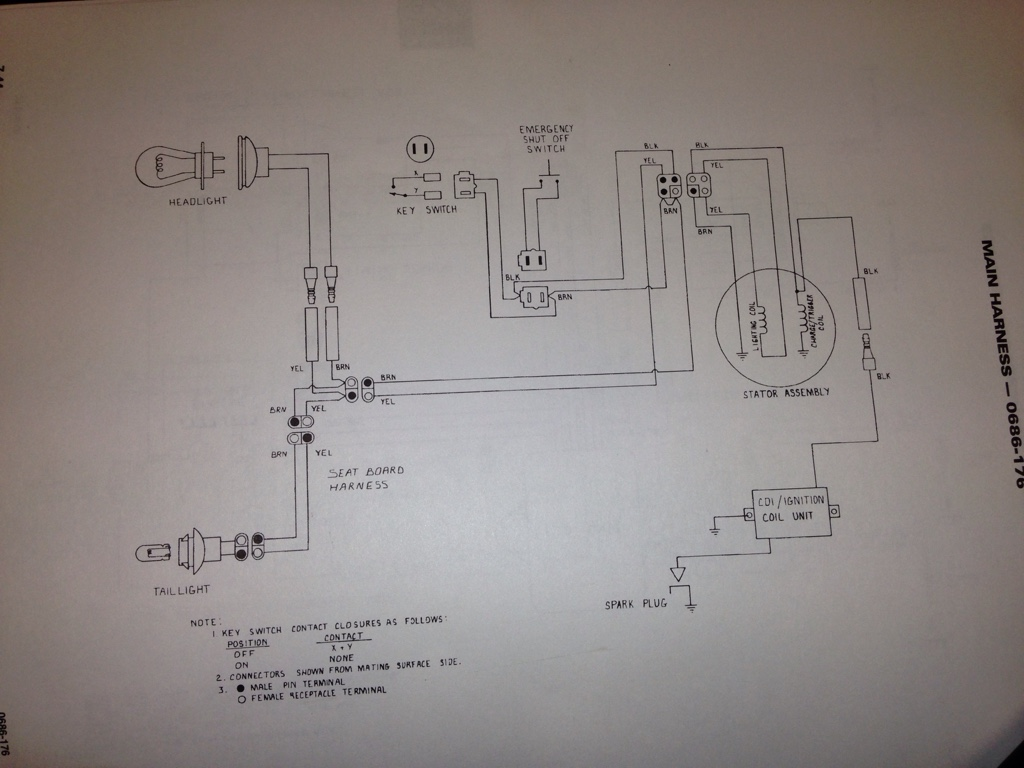 01 Snow Pro Cc Mod Wiring Help Arctic Cat Forum 2013 Diagram Thats The 600 Carb