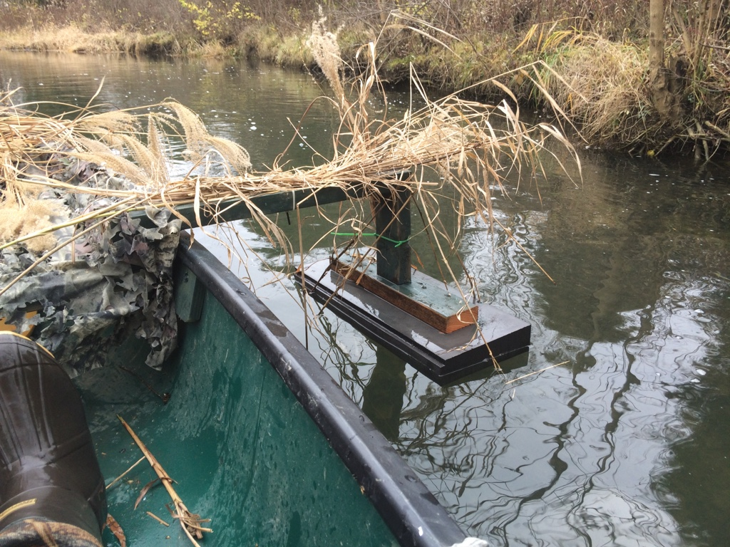 comments update canoe blind hunting r duck camo diy for my blinds