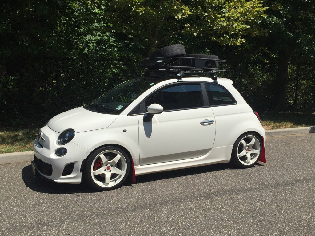 Fiat 500 abarth roof rack