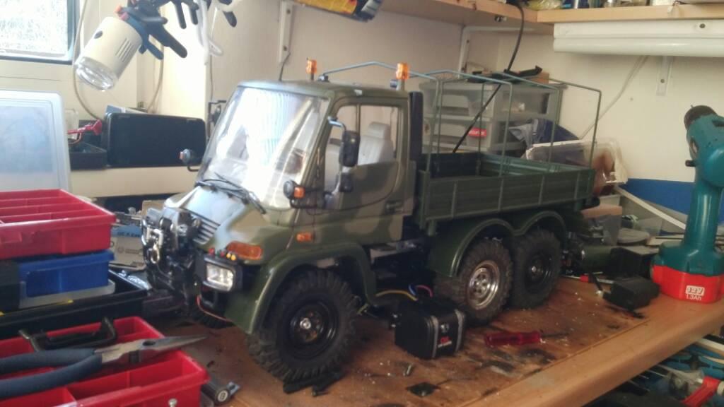 Unimog 6x6 - Mehr-Achser - RCCrawler.at - Austrians RC Crawler ...
