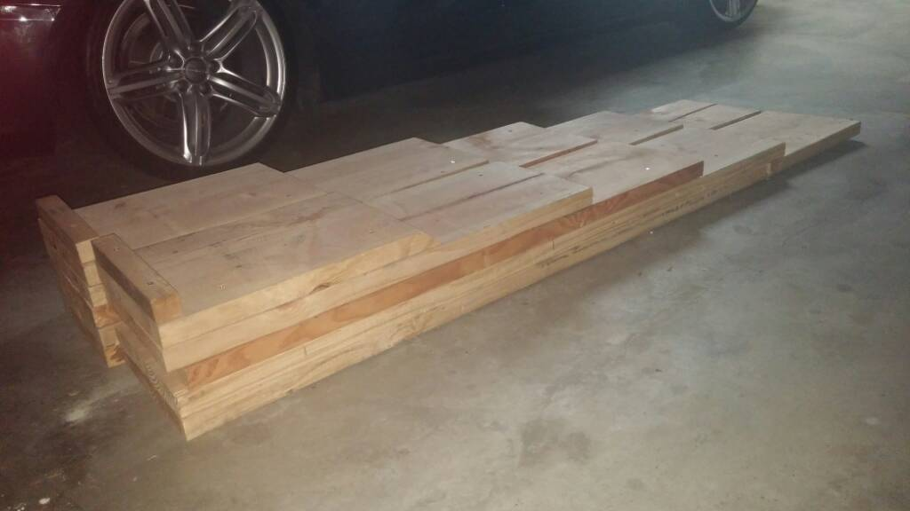 Low Car Ramps >> For Sale Homemade Low Profile Car Ramps