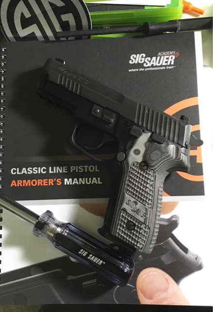 Completed the Sig Sauer Armorer's course today at the Academy - SIG Talk