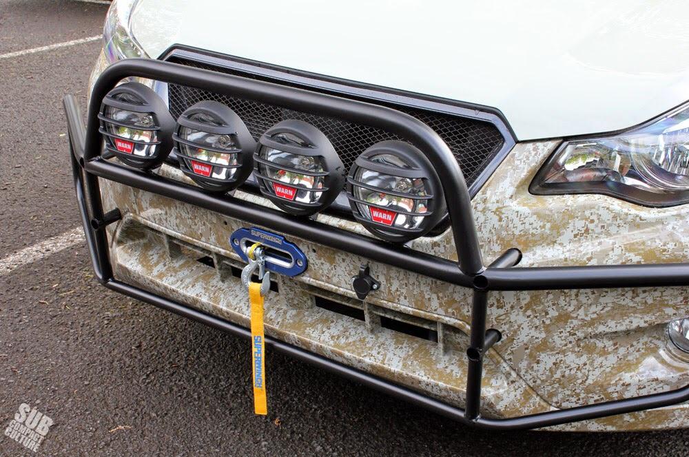 Custom Brush Guard Build - Club Crosstrek | Subaru XV Crosstrek Forums