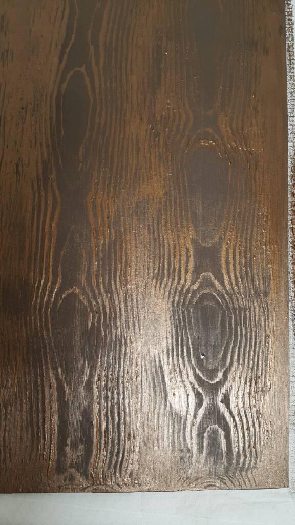 Doku Tarağı (Wood Grainer) Denemesi/Uygulaması
