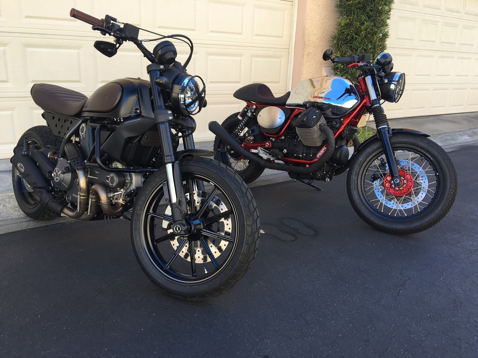 My Tracker Bikes Are Done