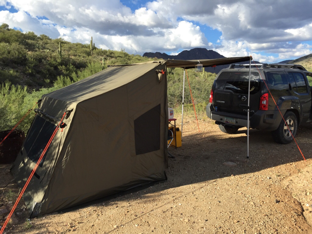 Shell RTT Top Bunk By High Gear Tents