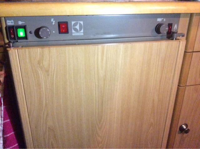 Caravan koelkast electrolux