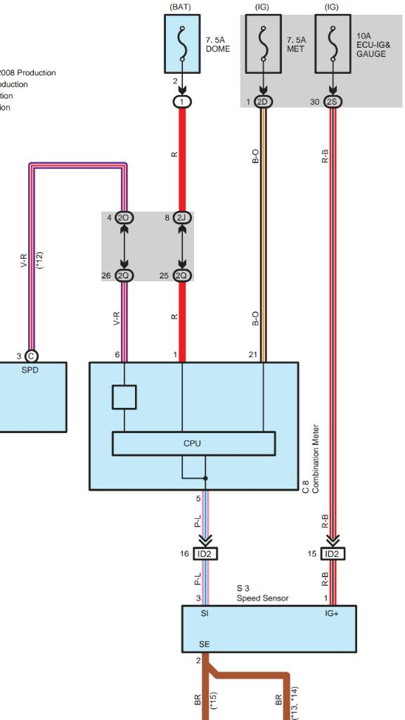 Toyota Speed Sensor Wiring Diagram
