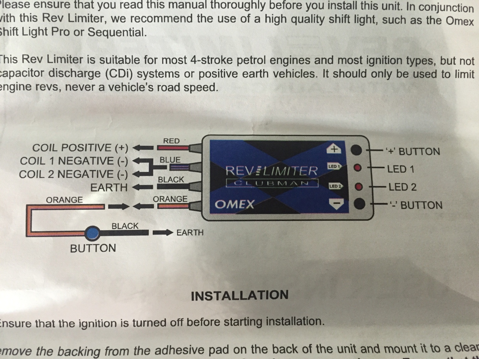 omex rev limiter instructions images all instruction examples omex rev limiter wiring diagram at Omex Rev Limiter Wiring Diagram
