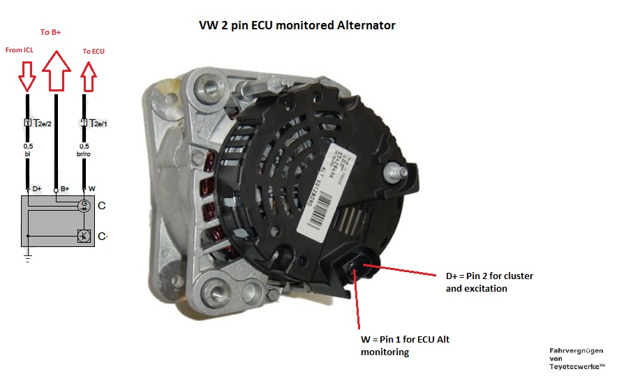 mk1 r32 alternator wiring help performance and technical r32oc rh r32oc com vw type 1 alternator wiring 81 vw rabbit alternator wiring