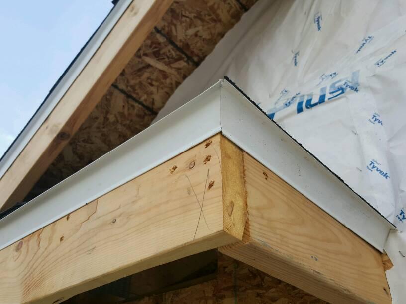Drip Edge Corner Installation Page 2 Roofing