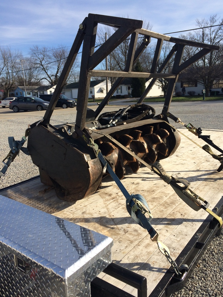 Bought another skid steer. - PowerStrokeArmy on bobcat skid steer electrical diagrams, bobcat dozer 6-way dozer blade wiring diagram, bobcat attachments, bobcat bulldozer,