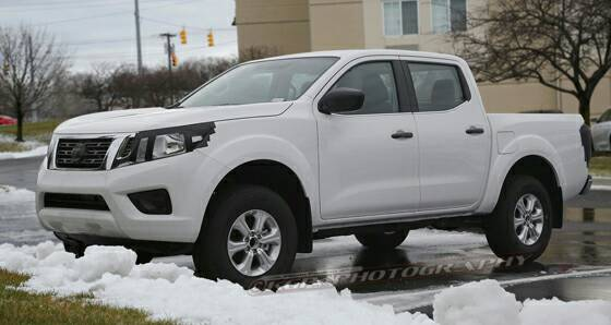 Pickuptrucks.com 2018 Frontier Spy Shots..... - Nissan ...