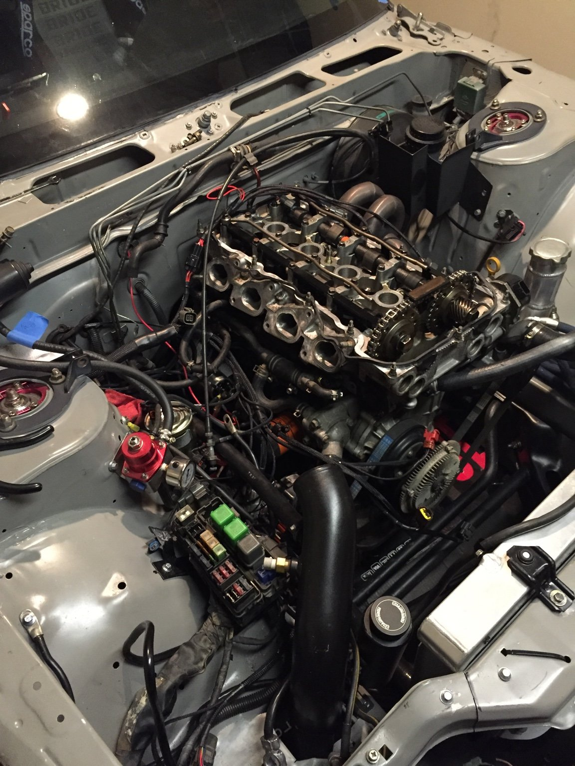 Va S13 Sr20 Engine Part Outgreddy Garrett Isr Aem Etc Wiring Specialties Sr20det Crank If Good Which I Believe It Is Asking 10000 Head Tbd No But Filled With Bc Springs Retainers 1 Retainer Looks Damaged Everything On