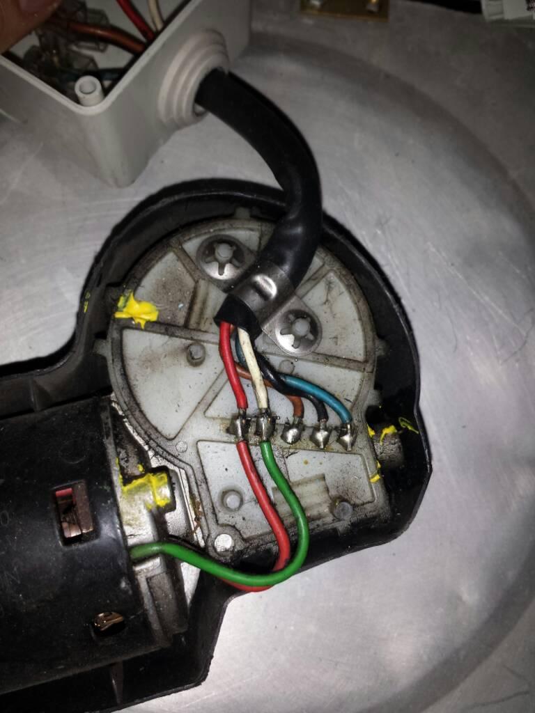 Schema Collegamento Motorino Tergicristallo : Cablaggio motorino tergicristallo autocostruzione