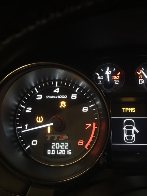 The Audi TT Forum • View topic - Tpms malfunction , esp