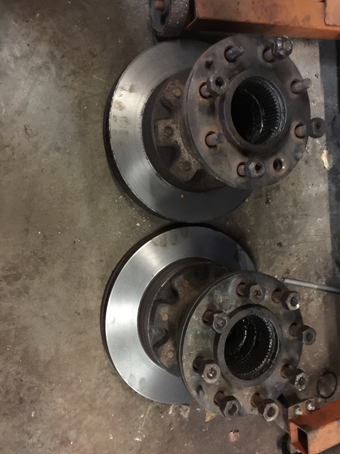 Chevy/dodge Dana 60 DRW Hubs and rotors FS or Trade - Great Lakes