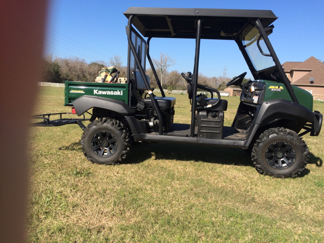 Lifted Kawasaki Mules? - TexasBowhunter com Community Discussion Forums