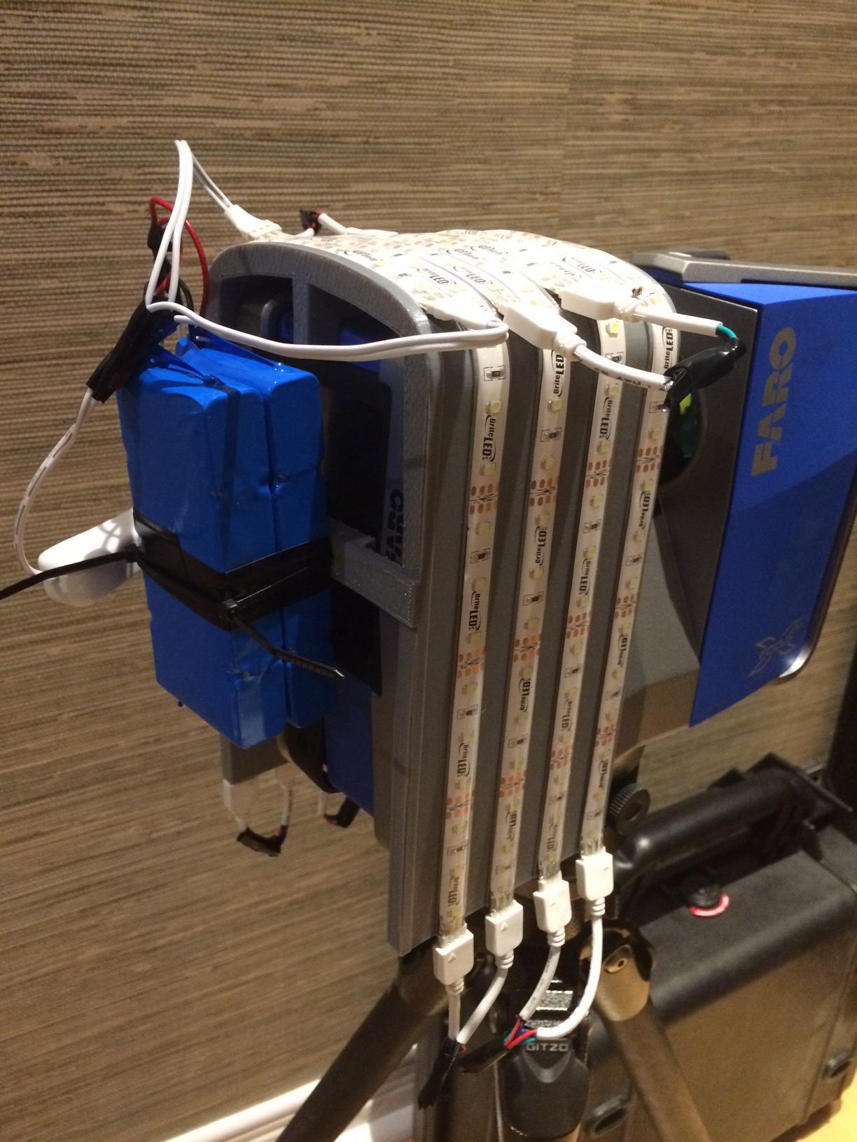 FARO Focus Mounted Lights - Laser Scanning Forum