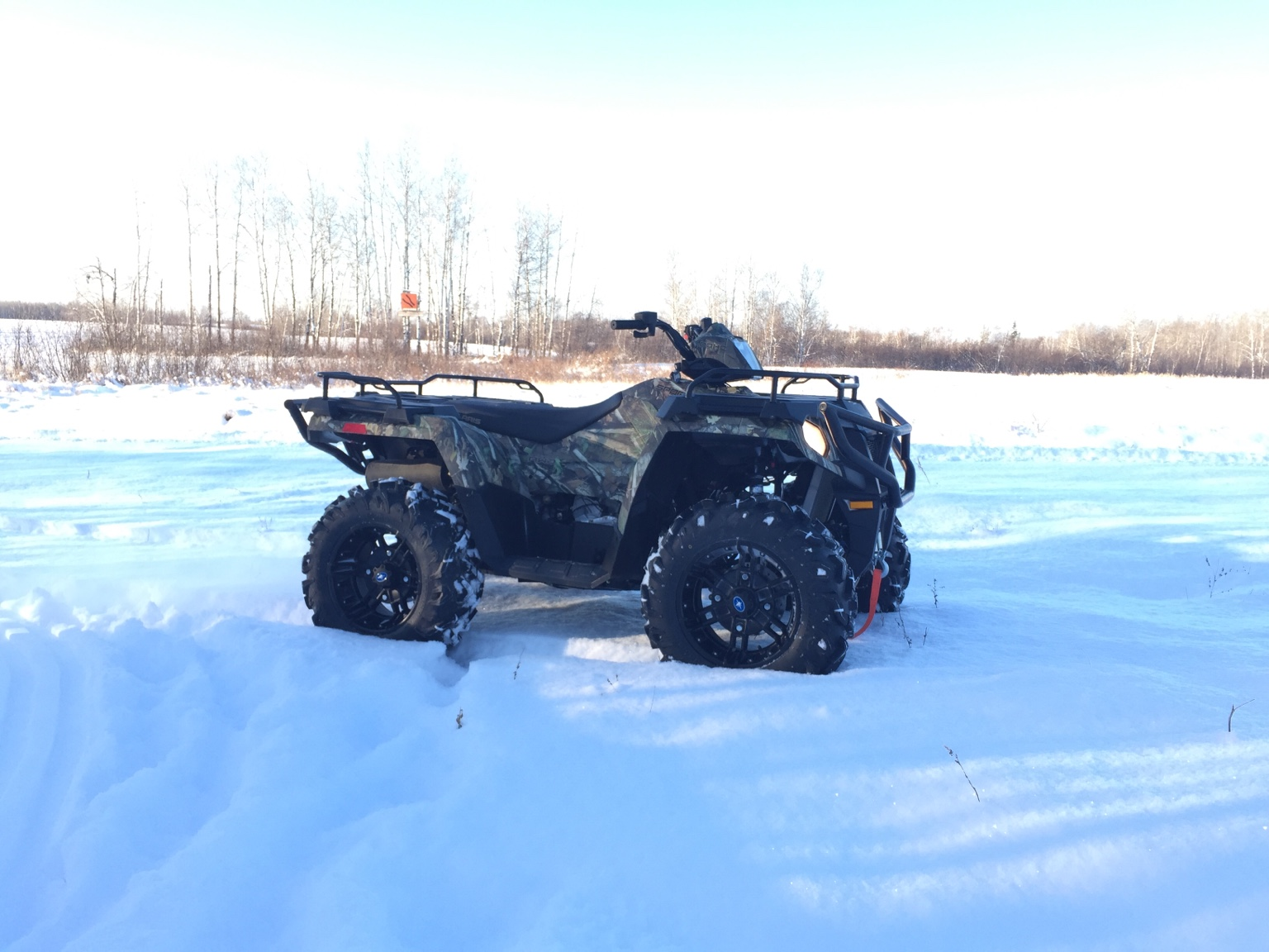 how to change au joint on a polaris sportsman