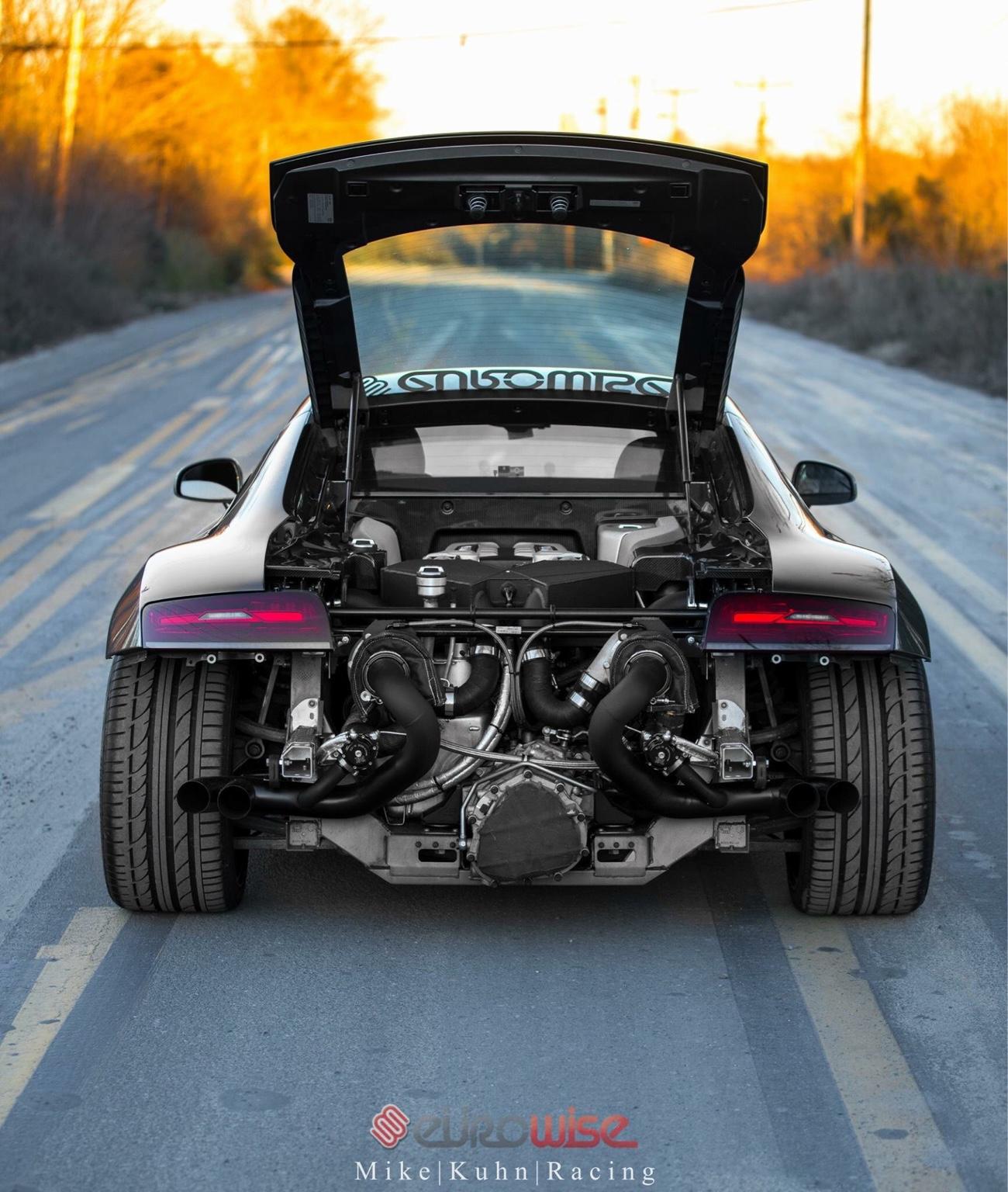 Twin Turbo R8 V8