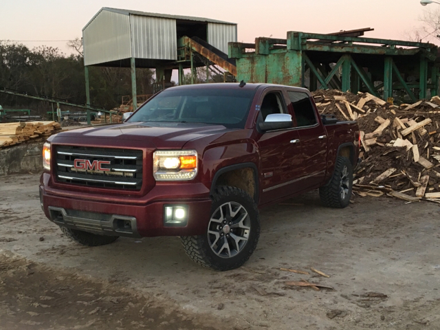 Leveled Sierra With Front Valance Remove Page 2 2014