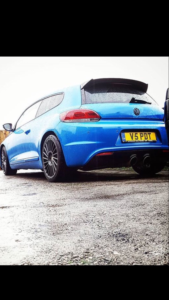 Scirocco Central • View topic - R32 style back bumper/exhaust?