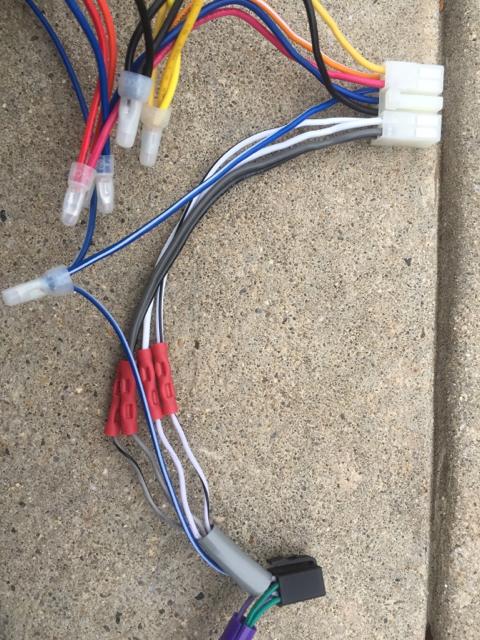 alpine ktp-445u powerpack/amp installation in 2015 outback ... alpine ktp 445 wiring diagram