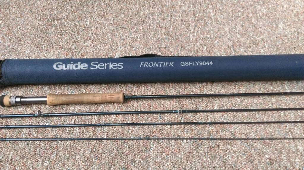 9 39 7wt gander mountain guide series the north american for Gander mountain fishing poles