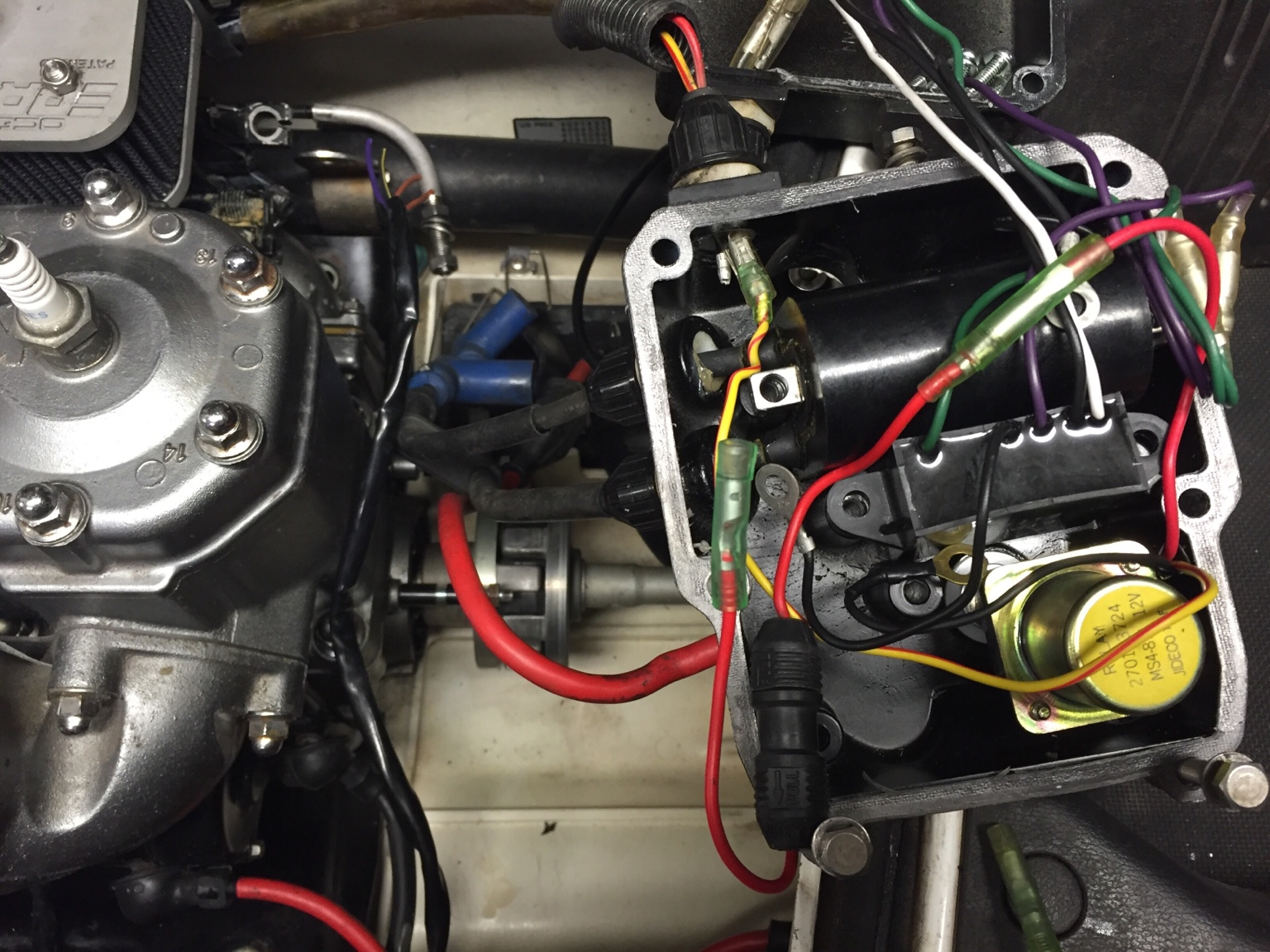 550sx 650 conversion wiring  kawasaki 550 sx wiring diagram #3