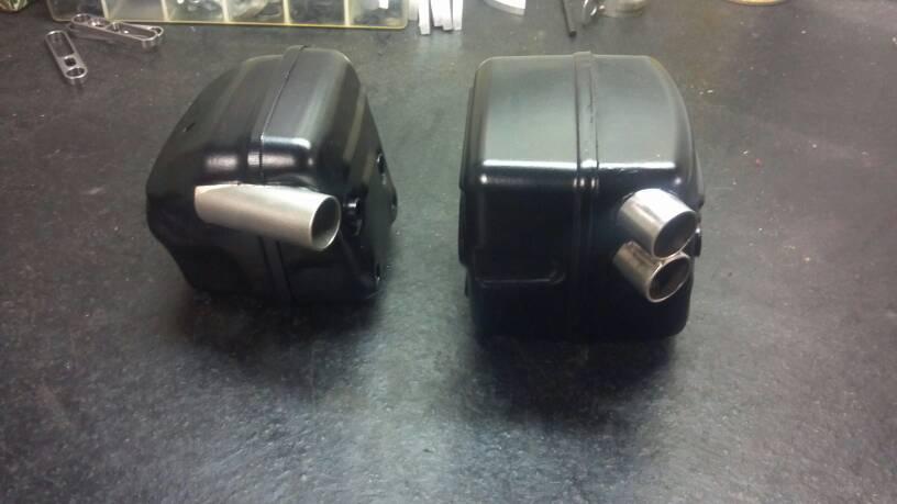 Muffler mod pictures | Outdoor Power Equipment Forum
