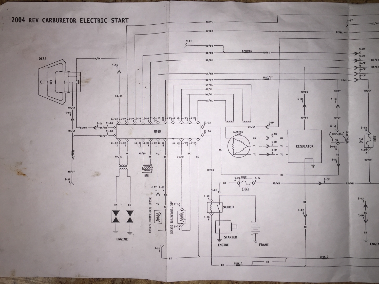 2004 REV wiring diagram 800HO needed HCS Snowmobile Forums