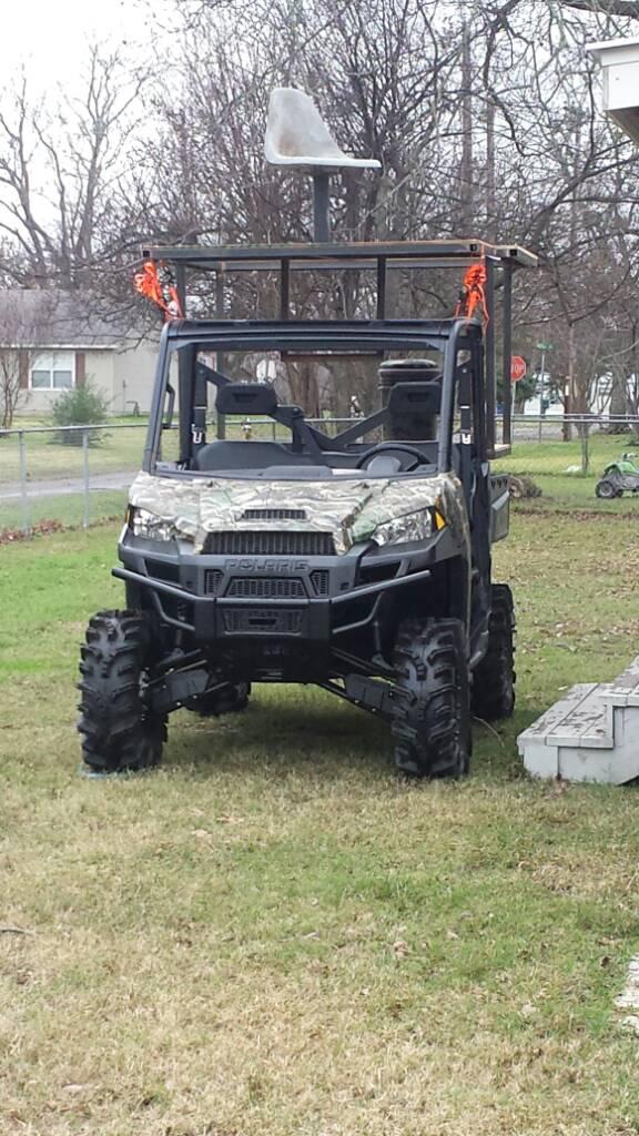 Polaris Ranger Turf Mode - TexasBowhunter com Community Discussion