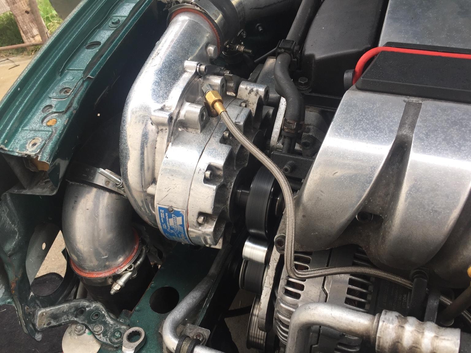 VWVortex com - Vr6 supercharger kit v1