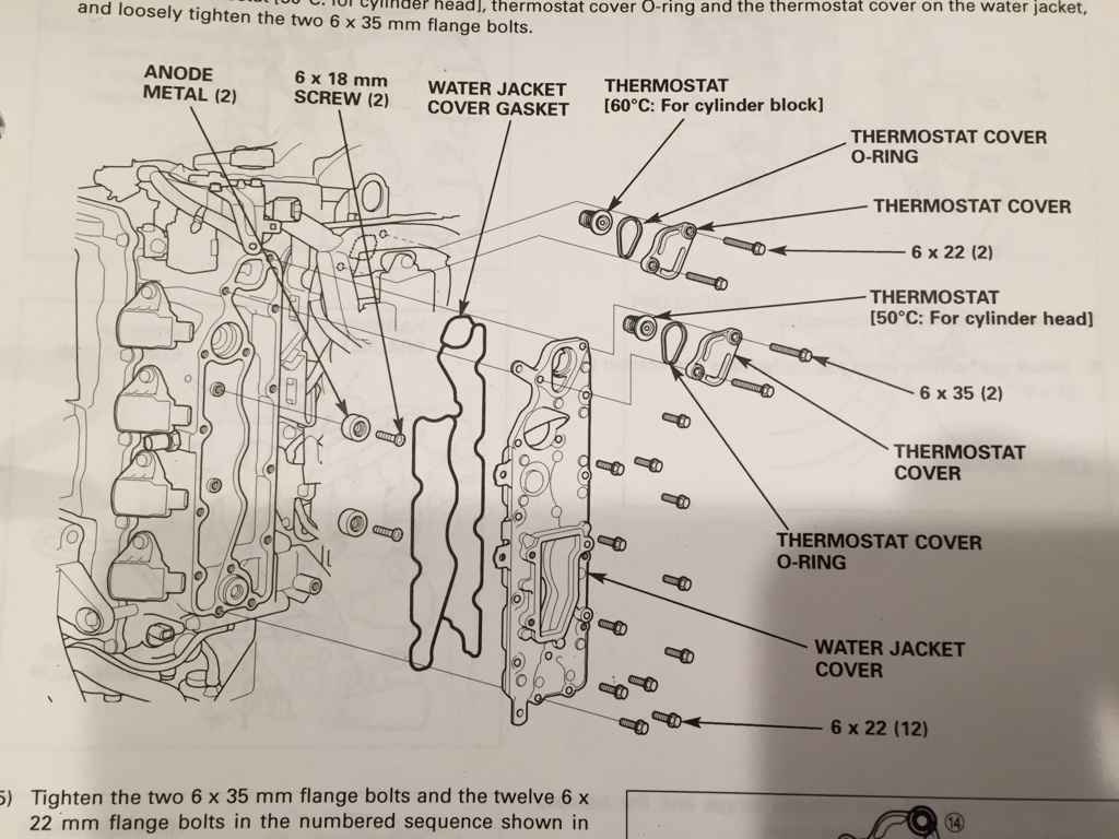 Dont Forget About Your Internal Zincs Engine Block Water Jacket Diagram Heres A From The Shop Manual Pita Pretty Much Thanks Honda