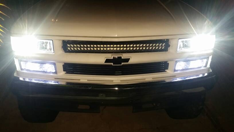 New Led Vs Hid Headlights Gmt400 The Ultimate 88 98