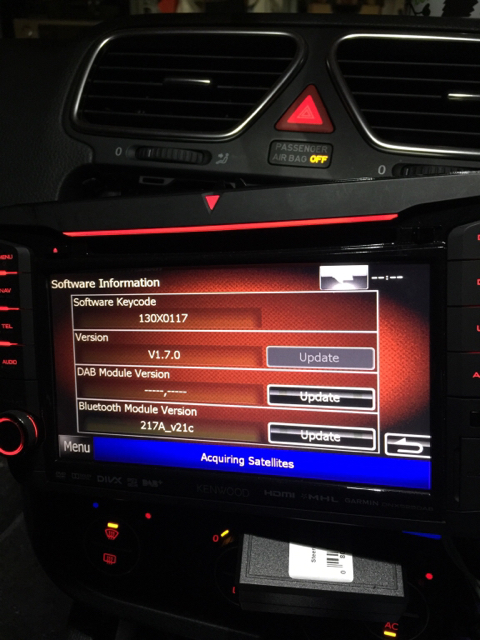 Scirocco Central • View topic - Kenwood Canbus Battery Drain?