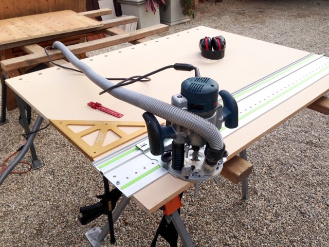 Festool lr32 system and bosch 1617 plunge router i found a photo greentooth Images