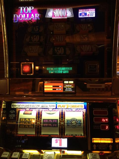 top dollar slot machine strategy