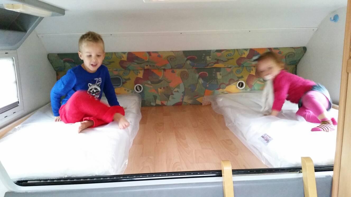 Www.camperforum.nl • toon onderwerp   afmeting bed alkoof