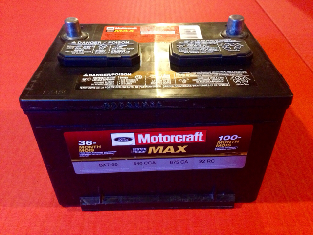 Ford Motorcraft Max Bxt 58 Battery