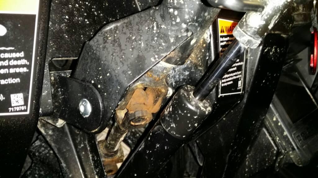 Annoying steering shaft play - Polaris RZR Forum - RZR