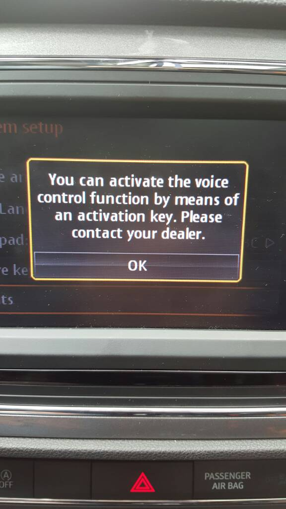 How to enable voice vontrol?