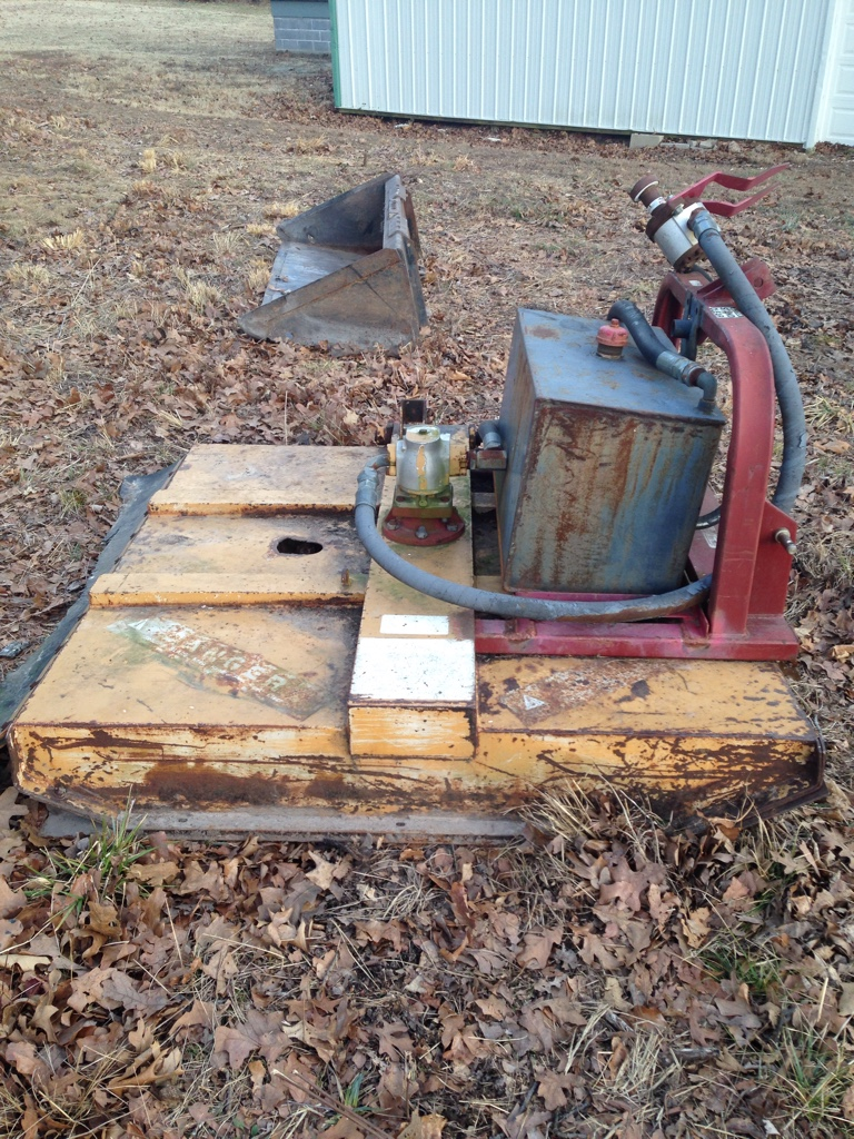 Skid steer brush cutter project